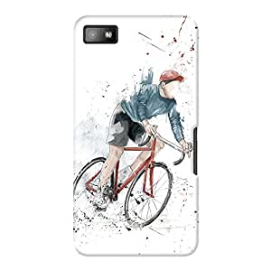 DailyObjects I Want To Ride Case For BlackBerry Z10