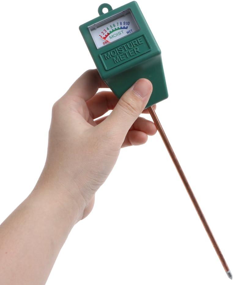 Messger/ät f/ür Bodenwasser Hygrometer f/ür Pflanzen Kcibyvx Soil Moisture Sensor Meter Ideal f/ür Garten Innenbereich Rasen Bauernhof