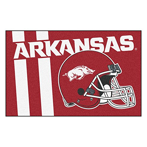 FANMATS 18732 Arkansas Uniform Inspired Starter Rug
