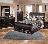 LOCHAS Ultra Soft Fluffy Area Rug Shag Carpets for