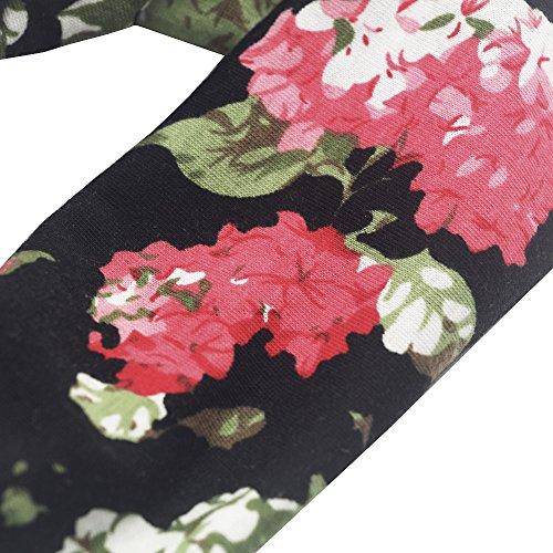 Multicolore Unita Maniche Vestito Maglietta Casual Tiaque Senza Donna Tinta Dress zqxZwAE
