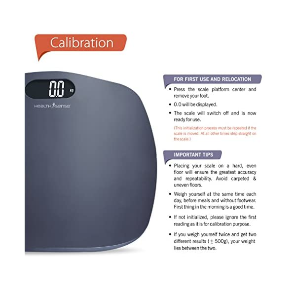 Healthsense Best Digital Personal Body Weighing Scale