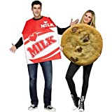 Fun World Milk and Cookies Costume for Adults