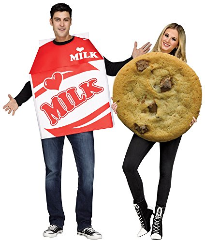 Fun World Milk and Cookies Costume for Adults ()