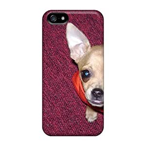 Hot EzZhRnf2920duibS Case Cover Protector For Iphone 5/5s- Lucy Chihuahuas
