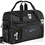 extra large duffel bags for men - Lavington Insulated Cooler Bag - Large Lunch Bag - Picnic and Travel Lunch Box- Multiple Pockets & Insulated Compartments - Strongest SBS Zippers & Handles