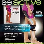 QBF Beactive Pressure Point Brace Back Pain Acupressure Sciatic Nerve Be Active Elbow Knee LEG Pads
