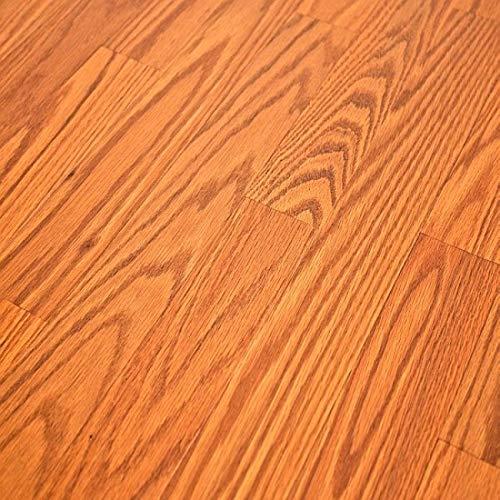 - Quick-Step NatureTEK Home Sound Butterscotch Oak SFS023 Laminate Flooring + Attached Pad SAMPLE