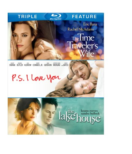 Blu-ray : The Time Traveler's Wife / P.S. I Love You / The Lake House (3 Pack, 3 Disc)