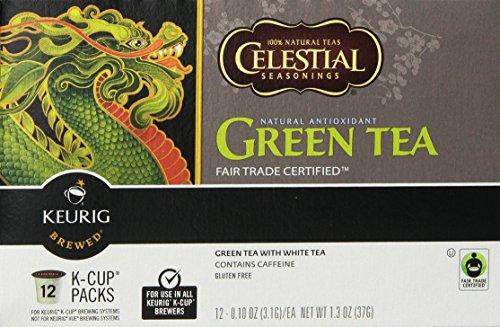 Keurig, Celestial Seasonings, antioxydant naturel de thé vert, les packs K-Cup, 72 comte