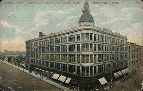 Donaldson's Department Store, The Glass Block Minneapolis, Minnesota Original Vintage - Glasses Minneapolis