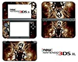 Vanknight Vinyl Decals Skin Sticker Uzumaki Naruto Anime for the New Nintendo 3DS XL 2015