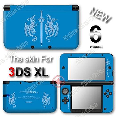 Fire Emblem Awakening Limited Edition SKIN STICKER COVER for Original Nintendo 3DS XL