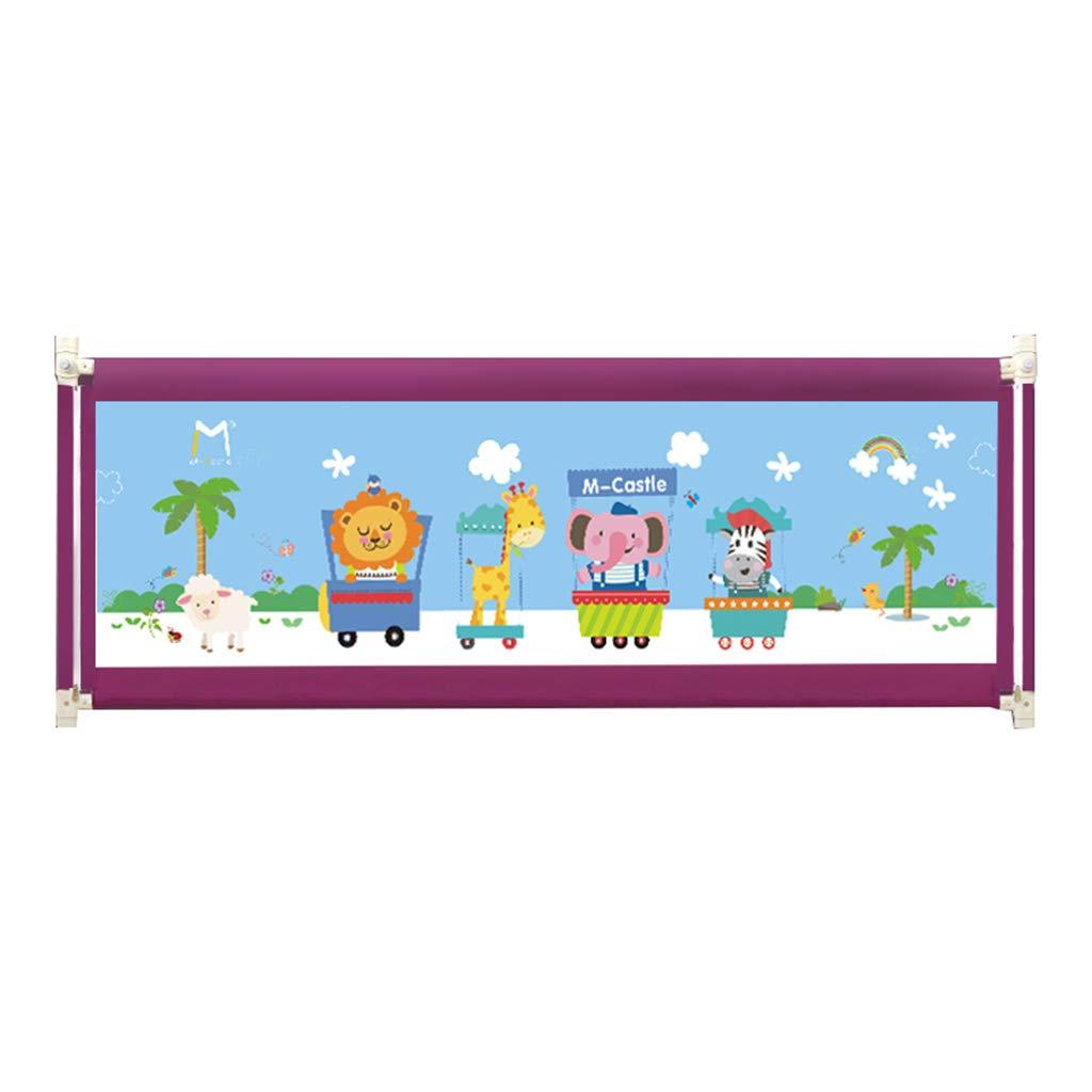 幼児のためのベッドレール超長時間、調節可能な安全なベッドレイルベッドガード子供のための赤ちゃん92センチメートル高い (色 : Purple, サイズ さいず : 2.0M) 2.0M Purple B07JWGS973