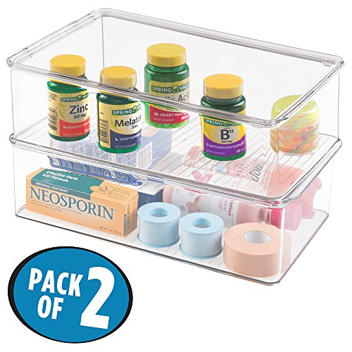 mDesign Organizer Vitamins Supplements Supplies product image