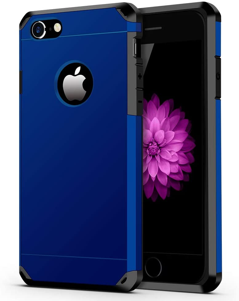 IMPACTSTRONG iPhone 6 / 6s Case, Heavy Duty Dual Layer Protection Cover Heavy Duty Case for Apple iPhone 6 / 6s (Navy Blue)