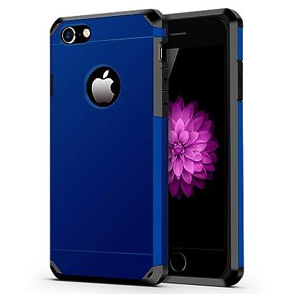 Amazon.com: Funda para iPhone 7/8, resistente y de doble ...