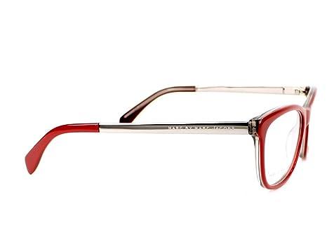 eab457dbbb3 MARC BY MARC JACOBS MMJ 634 Eyeglasses 0A53 Burgundy Ruthenium 52-16-135   Amazon.co.uk  Clothing