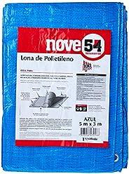 Lona De Polietileno Azul 5 M X 3 M Nove54 Nove 54