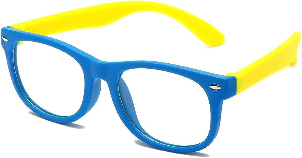 Long Keeper Gafas de protección anti-luz azul irrompibles niños, gafas para juegos con protección UV y anti fatiga visual para niños