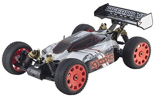 Kyosho Inferno - Kyosho Kyosho Inferno VE Vehicle, Black/Red