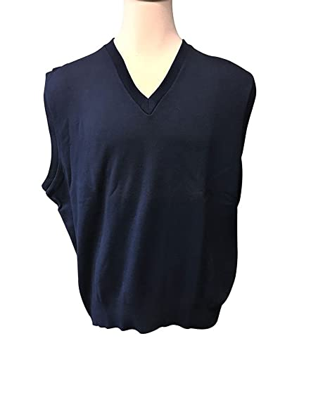 Amazon.com: Megalos USA Made Navy Big and Tall Sweater Vest: Clothing