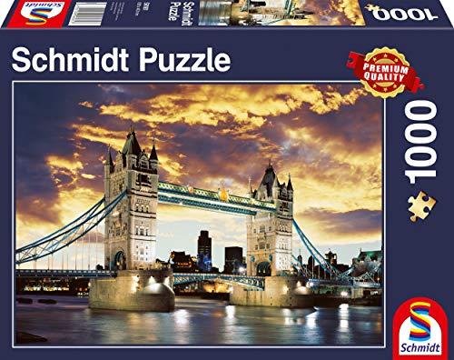 Schmidt Tower Bridge London Puzzle (1000-Piece)