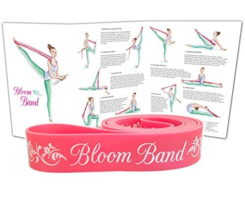 Vital Balance The Bloom Band- PREMIUM Ballet Stretch Band for Dance and Gymnastics - Superior Stretch Training by Vital Balance