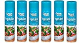 Great Value Vegetable Oil Cooking Spray, 8 oz (Pack of 6)