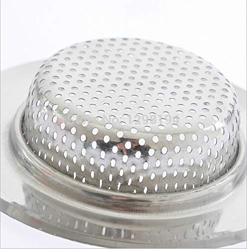 Kitchen Stainless Steel Sink Strainer Waste Disposer Plug Drain Stopper Filter 3(S M L) size optional +