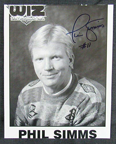 Phil Simms Signed Photo - 8x10 I - Autographed NFL Photos ()