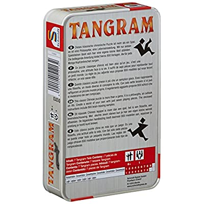 Tangram In Metalldose