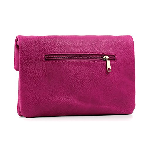 Clutch Bag Leather Aossta Womens Faux Handbag Evening Cross Body Over Soft Trendy Gold Flap wq8AFq