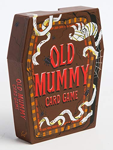 Easy Halloween Card Ideas (Old Mummy Card Game: (Spooky Mummy and Monster Playing Cards, Halloween Old Maid Card)