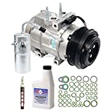 New Genuine OEM AC Compressor & Clutch + A/C Repair Kit For Ford & Lincoln - BuyAutoParts 60-83447RN New