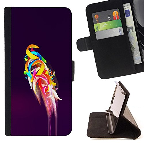 skcase-center-flip-wallet-pu-leather-case-cover-for-motorola-nexus-6-parrot-flight-purple-abstract-a