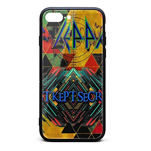 iPhone 7/8 Plus Case - Def-Best-Kept-Secrets-Leppard- TPU Shockproof Protective Case Cover for iPhone 7 Plus Case/iPhone 8 Plus Case (Def Leppard Best Kept Secrets)