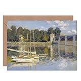 Claude Monet The Argenteuil Bridge Fine Art