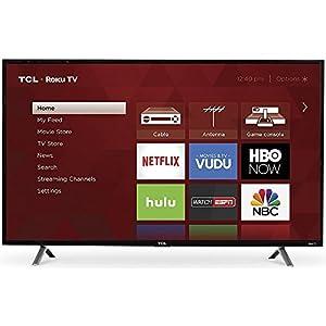 TCL 49S305 49-Inch 1080p Roku Smart LED TV (2017 Model)
