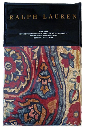 Ralph Lauren Bohemian Muse Larson King Pillow Sham ()