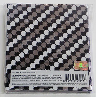 BIGBANG - 2011 BIGBANG Live Concert [BIG SHOW] CD + Photo Booklet + Extra Gift Photocard