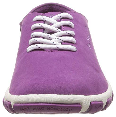 TBS - Zapatos de cuero para mujer Violett (Orchidée)