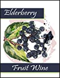 Elderberry Fruit Wine Bottle Labels