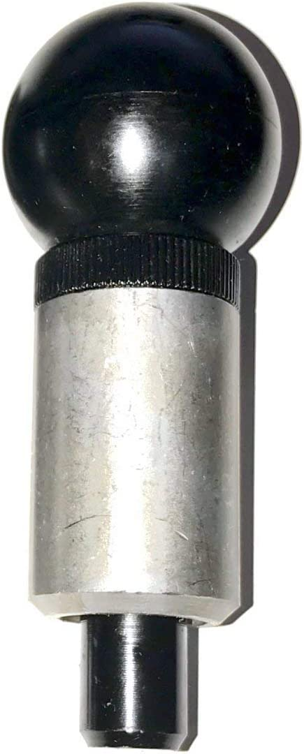 5//8 Diameter Steel Spring-Loaded Plunger T-Handle 2-1//4 Length x 1 Diameter Steel Barrel Pull Pin