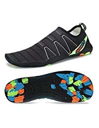 Coolloog Men Women Barefoot Quick Dry Water Shoes Lightweight Breathable for Walking Swim Beach Yoga