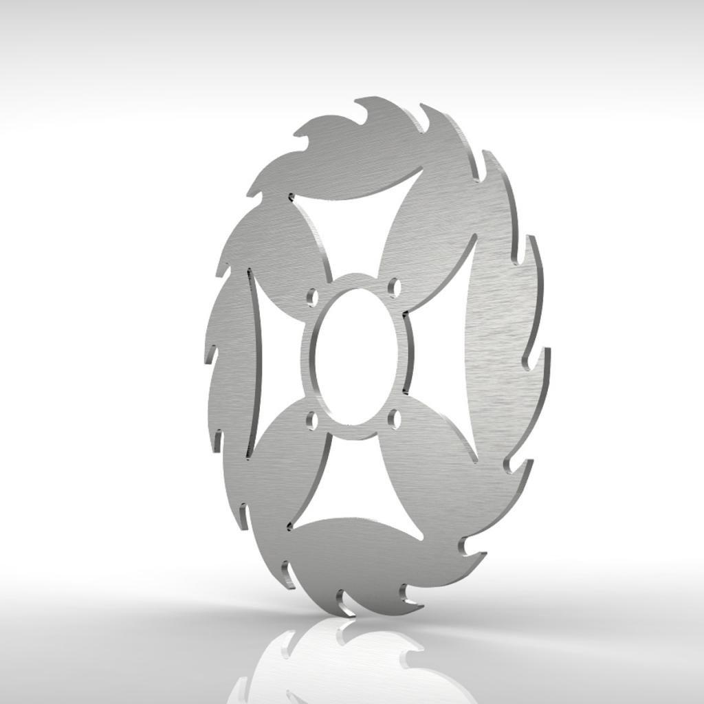 Ferreus Industries Sport Rear Brake Disc Rotor Stainless fits 01-05 Yamaha Raptor 660 YFM660R ROT-103-04-c