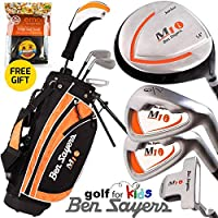 """""""NEW 2015"""" BEN SAYERS""""GOLF FOR KIDS"""" COMPLETE JUNIOR GOLF SET AGES 5/8 & 9/11"""