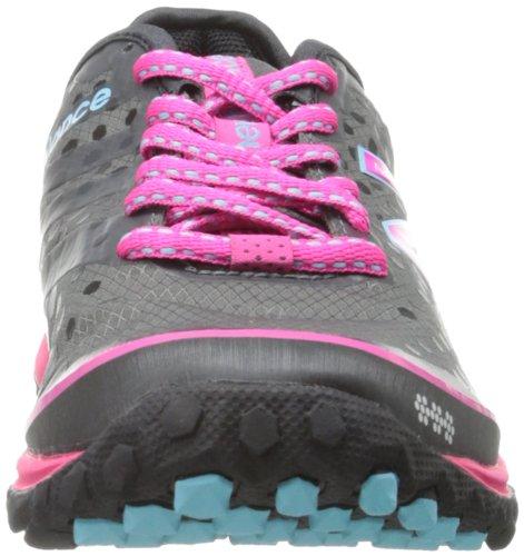 New Balance Women's W1690 Minimus Running Shoe,Black/Pink,5 B US