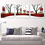 The living room decorated with paintings of No 3 box art wall clock sofa wall hanging art dining room bedroom study clocks paintings 4040cm,3