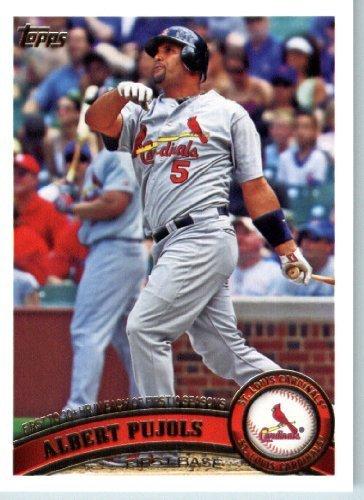 (2011 Topps Baseball Card # 547 Albert Pujols - St. Louis Cardinals - MLB Trading Card (Series 2))